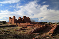 Quarai Ruins. At Salinas National Monument in the State of New Mexico Stock Photography