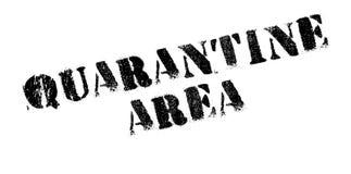 Quarantäne-Bereichsstempel Stockfotos
