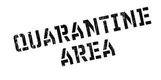 Quarantäne-Bereichsstempel Lizenzfreie Stockfotos