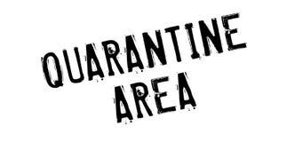 Quarantäne-Bereichsstempel Lizenzfreies Stockbild