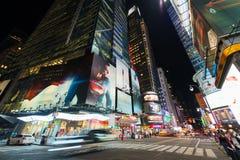 Quaranta-seconda via in Manhattan Fotografie Stock Libere da Diritti