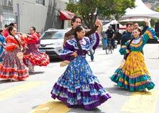 quarante-et-unième festival annuel de Carnaval à San Francisco, la Californie photographie stock libre de droits