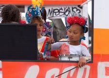 quarante-et-uni?me d?fil? grand annuel de Carnaval ? San Francisco, la Californie photo libre de droits