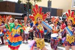 quarante-et-uni?me d?fil? grand annuel de Carnaval ? San Francisco, la Californie photographie stock libre de droits