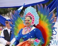 quarante-et-uni?me d?fil? grand annuel de Carnaval ? San Francisco, la Californie image libre de droits