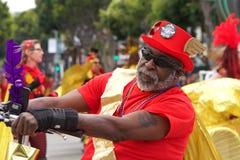 quarante-et-uni?me d?fil? grand annuel de Carnaval ? San Francisco, la Californie photo stock