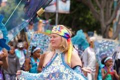 quarante-et-uni?me d?fil? grand annuel de Carnaval ? San Francisco, la Californie images libres de droits