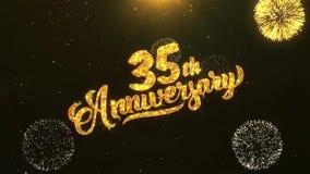 quarantième célébration heureuse d'anniversaire, souhaits, saluant le texte sur la célébration heureuse d'or d'anniversaire de Fi illustration libre de droits