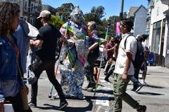 quarantième rue annuelle 2018 juste, 8 de Haight Ashbury Images libres de droits
