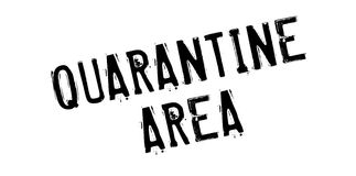 Quarantine Area rubber stamp Royalty Free Stock Image