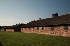 Quarantine block, Auschwitz concentration camp Royalty Free Stock Photo