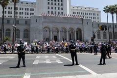 Quarantine protest in Los Angeles