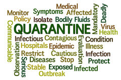 Quarantine Stock Images