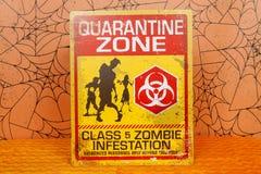 Quarantine Zone Stock Photo