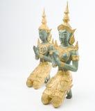 Quards del templo de Bhuddist Imagen de archivo libre de regalías