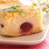 quark вишни торта стоковая фотография rf