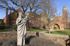 Quarr Abbey Stock Images
