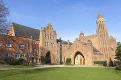Quarr Abbey Stock Photo