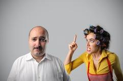 Quarrel Royalty Free Stock Photos