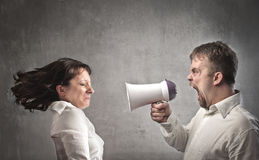 Quarrel Stock Photography