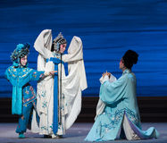 """Quarrel with each other and become enemies-The seventh act Disintegration of families-Kunqu Opera""""Madame White Snake"""". Legend of the White Snake is one of Royalty Free Stock Photos"""