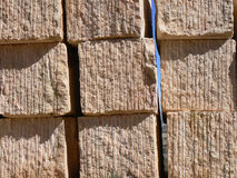 Quarried stone Blocks Royalty Free Stock Image