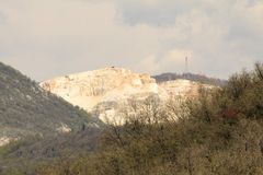 Quarries Royalty Free Stock Photography