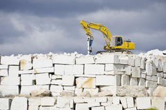 Quarry Royalty Free Stock Photo