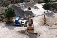 Quarry. Industry Royalty Free Stock Photos