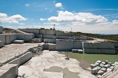 quarry Foto de Stock Royalty Free