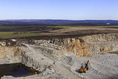 Quarry against the background of nature Stock Images