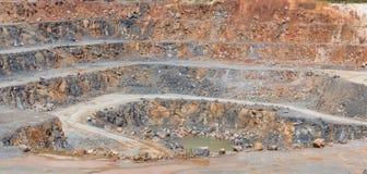 quarry background Stock Image