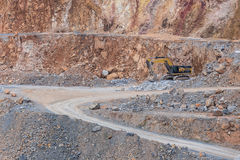 quarry background Royalty Free Stock Photos