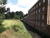 Quarry bank mill  from tv,s the mill Royalty Free Stock Photography