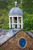 Dome of the mill. Quarry bank mill wilmslow Cheshire England united kingdom royalty free stock images