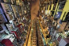 Quarry Bay high rise housing in Hong Kong China Royalty Free Stock Photography