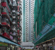 Quarry Bay in Hong Kong Stock Photos