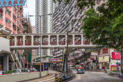 Quarry Bay in Hong Kong Royalty Free Stock Images