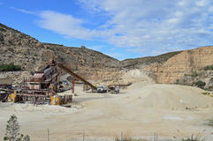 A Quarry Royalty Free Stock Image