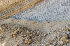Quarry concept Royalty Free Stock Photo