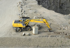 Quarry digger Royalty Free Stock Photography