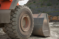 Quarry digger Royalty Free Stock Photos
