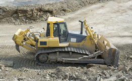 Quarry digger Stock Image