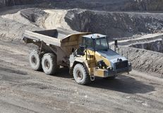 Quarry Dump Truck Stock Image
