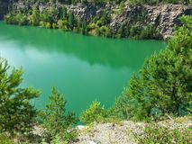 quarry foto Fotografia de Stock
