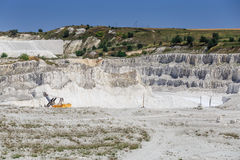 Quarry, heavy duty machinery Royalty Free Stock Photo