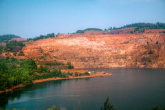 Quarry in India Royalty Free Stock Photo