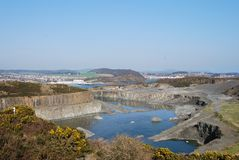 Quarry at Inverkeithing Royalty Free Stock Photos