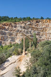 Quarry landscape royalty free stock photos