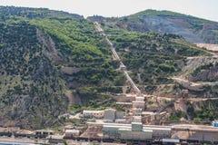 Quarry limestone in Balaklava Stock Images